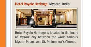 Hotel Royale Heritage, Mysore, India