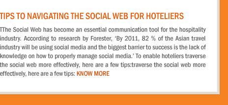 Tips to Navigating the Social Web for Hoteliers