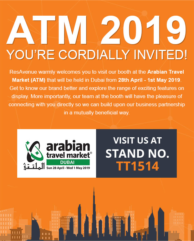 ATM 2019 You're Cordially Invited!