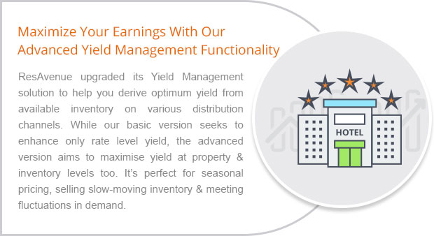 Maximize Your Earnings With Our Advanced Yield Management Functionality