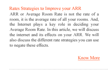 Rates Strategies to Improve your ARR