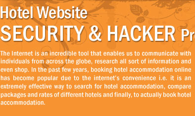 Hotel Website  Security & Hacker Proofing