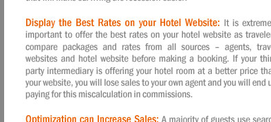 How to Manage and Market your Hotel during Recession