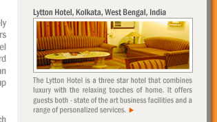 Lytton Hotel, Kolkata, West Bengal, India
