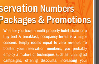 Bolster Hotel Reservation Numbers with Packages