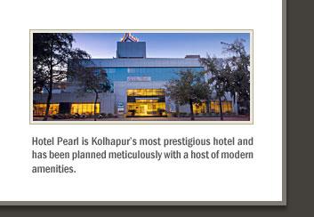 Hotel Pearl,  Kolhapur, India