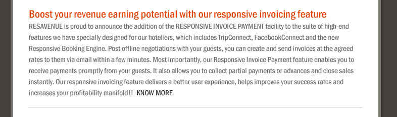 Boost Your Revenue Earning Potential With Our Responsive Invoicing Feature.