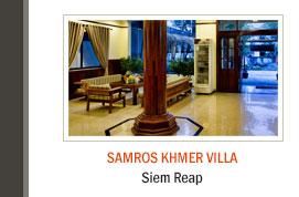 Samros Khmer Villa, Siem Reap