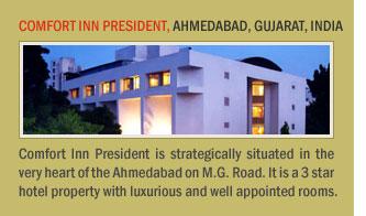 Comfort Inn President, Ahmedabad, Gujarat, India