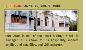 Hotel Aram, Jamnagar, Gujarat, India