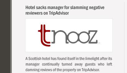 Hotel sacks manager for slamming negative reviewers on TripAdvisor
