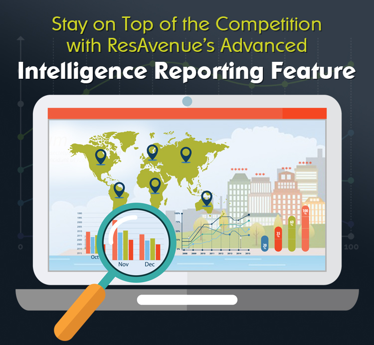 Stay On Top Of The Competition with ResAvenue's Advanced Intelligence Reporting Feature