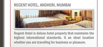 Regent Hotel, Andheri, Mumbai
