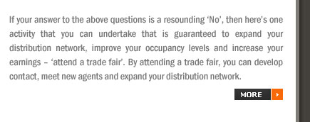 Trade Fairs: An Opportunity to Expand your Distribution Network