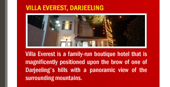 Villa Everest, Darjeeling