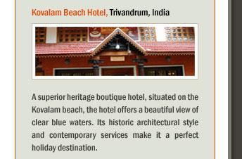 Kovalam Beach Hotel, Trivandrum, India