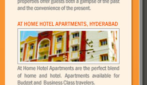 At Home Hotel Apartments, Hyderabad