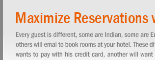 Maximize Reservations with Multiple Payment Options