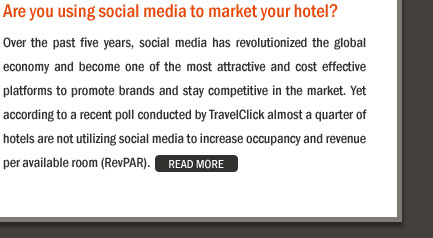 Are you using social media to market your hotel?