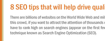 8 SEO tips that will help drive quality traffic to your hotel's website.