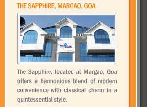 The Sapphire, Margao, Goa
