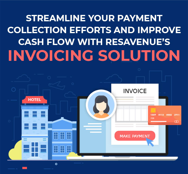 Streamline your payment collection efforts and improve cash flow with ResAvenue's Invoicing solution
