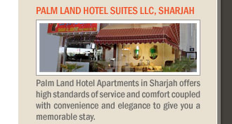 Palm Land Hotel Suites LLC, Sharjah