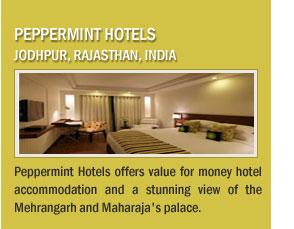 Peppermint Hotels, Jodhpur, Rajasthan, India