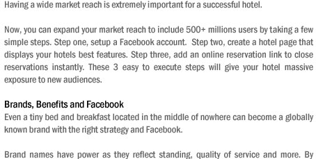 500 million and growing people use Facebook, do you really need more reasons to jump on the Facebook marketing bandwagon?