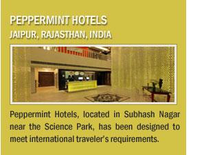 Peppermint Hotels, Jaipur, Rajasthan, India