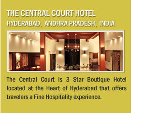 The Central Court Hotel ,Hyderabad, Andhra Pradesh, India