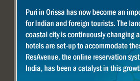 Growth of the Hospitality Industry in Puri