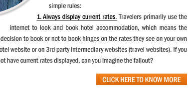 Simple Rules that can increase your Share of the Sizeable Summer Traveler Market