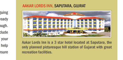 Aakar Lords Inn, Saputara, Gujrat