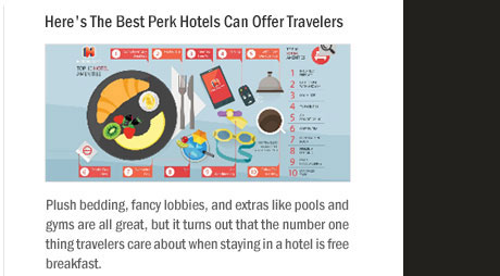 Here's The Best Perk Hotels Can Offer Travelers