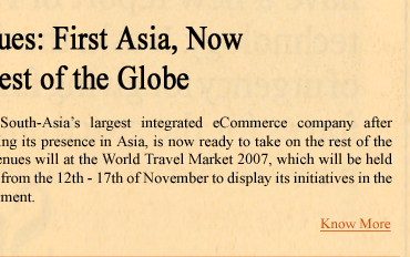 Avenues:First Asia, Now the Rest of the Globe