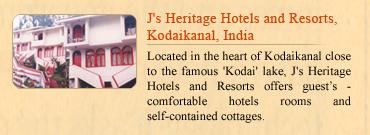 J's Heritage Hotels & Resorts, Kodaikanal, India
