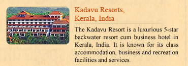 Kadavu Resorts, Kerala, India