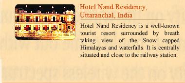 Hotel Nand Residency, Uttaranchal, India