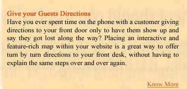 Give your Guests Direction