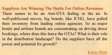 Suppliers are Winning The Battle For Online Revenues