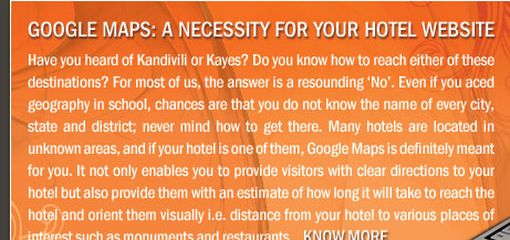 Google Maps: A necessity for your Hotel website