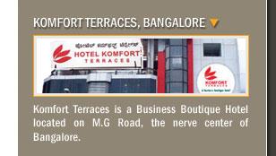 Komfort Terraces, Bangalore
