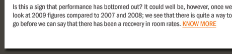 SEPTEMBER 2009 REPORT: HAVE WE BOTTOMED OUT?