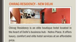 Chirag Residency - New Delhi