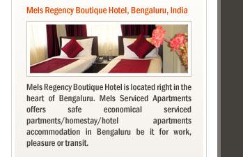 Mels Regency Boutique Hotel, Bengaluru, India