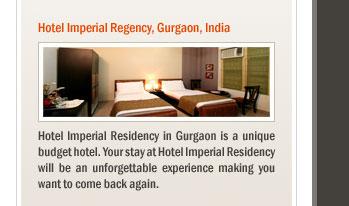 Hotel Imperial Regency, Gurgaon, India