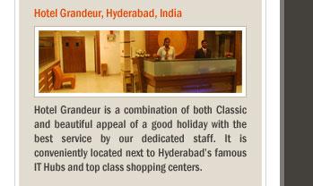 Hotel Grandeur, Hyderabad, India