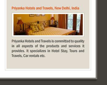Priyanka Hotels and Travels, New Delhi, India