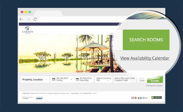 Enhance Brand Visibility and Increase Conversions with ResAvenue's Advanced Booking Template